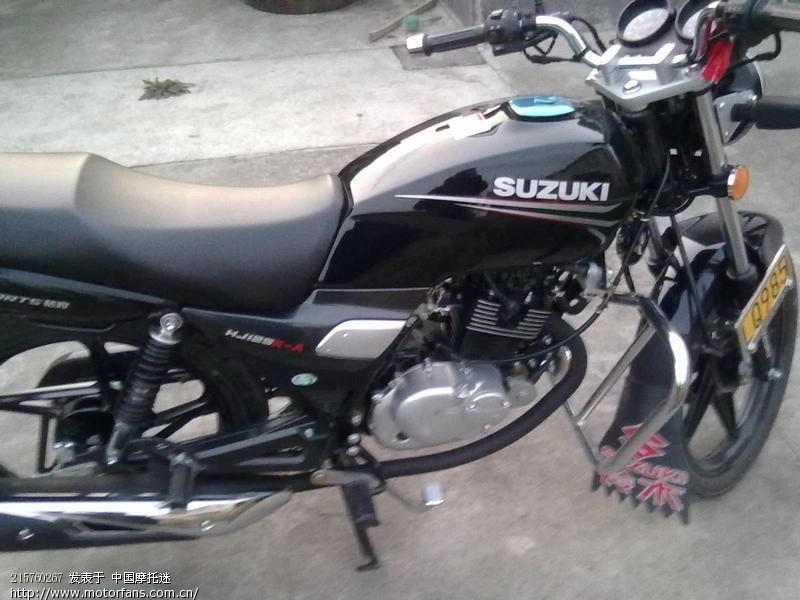 摩托车论坛 豪爵铃木-骑式车讨论专区 钻豹 03 刚入手的钻豹hj125k