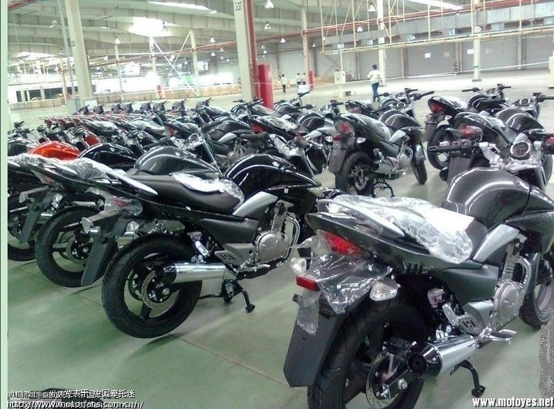 豪爵铃木GW250 骊驰摩托车 为什么现在不生产高清图片