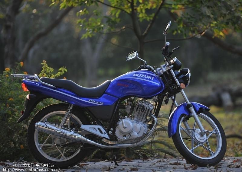 蓝色经典-金城铃木gx125
