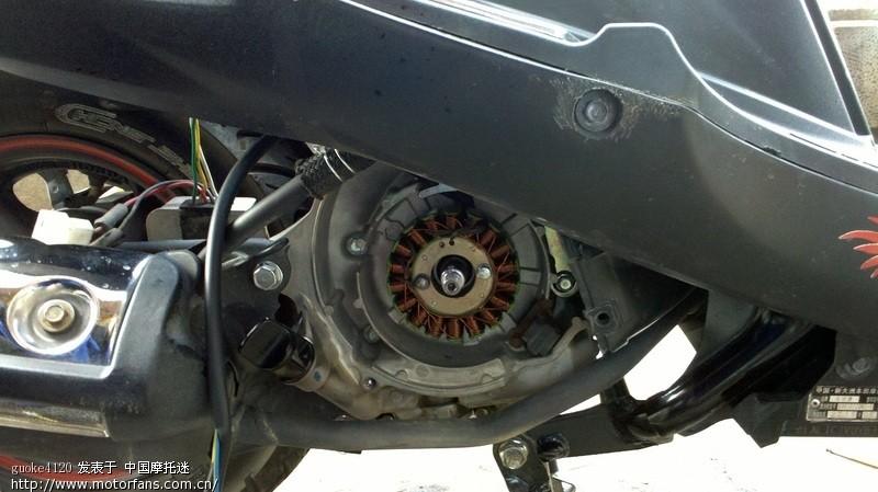 [2] 下一页 新大洲本田-踏板车讨论专区  ---> 魔戟改18极三相磁电机