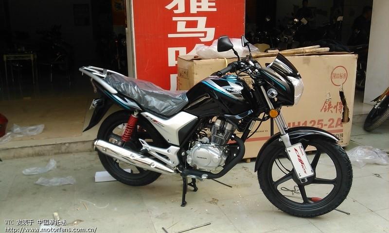 摩托车论坛 新大洲本田-骑式车讨论专区 新本-小战鹰 03 新手刚买