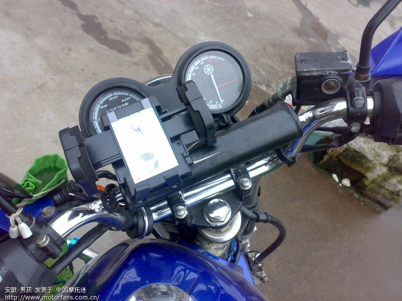 关于改摩托车电瓶为手机充电