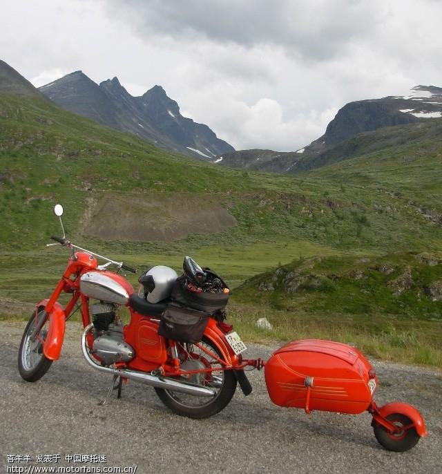 摩托车旅行挂车 色魔驴行