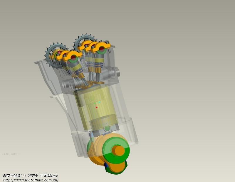 顶杆机的3d结构图