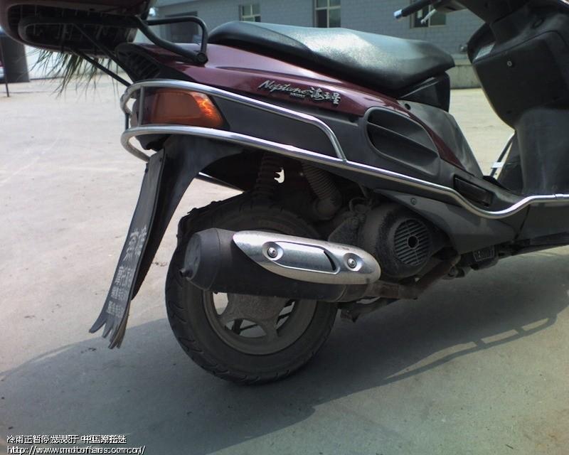 摩托车前单减震 摩托车前减震拆解图片 125摩托车改后单减-五菱宏光