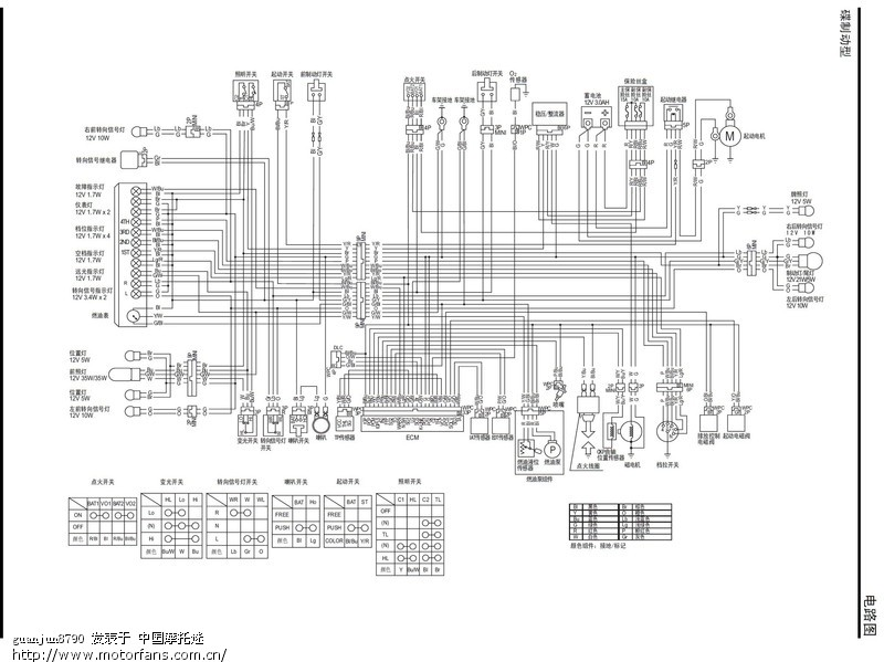 电瓶一组48转12伏转换器电路图