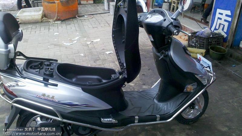 豪爵铃木-踏板车
