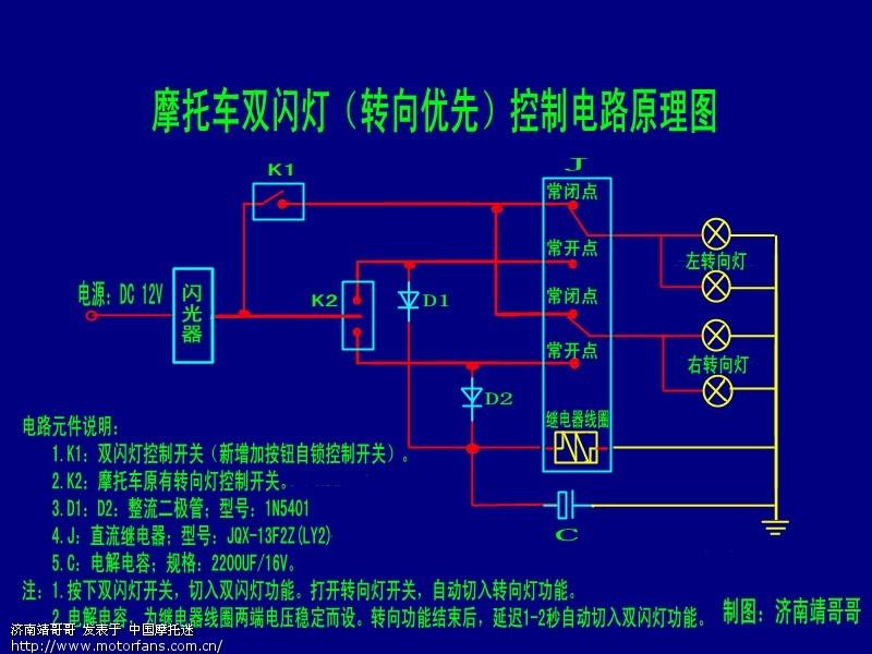 我想做一个风力发电机来亮12V的LED灯,逆变器怎么做?求。 把低压直流变成交流电并升压这个过程叫逆变。难道你这个风力发电机12V都没有?如果你的风力发电机是直流的并真的低于12V,也建议你不要做逆变器,直接用LED发光管好了,按品种不同,一般电压为1V多到3V多,用电阻降压。大功率的LED还有驱动模块驱动的,找个低电压的驱动模块就是了。如果你的发电机是交流的,那就可以用直接变压器进行升压或降压,得到你需要的电压后经整流滤波稳压后供LED灯用。 不需要逆变器!