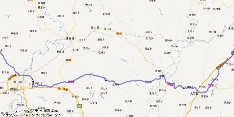 摩托車論壇 四川摩友交流區  03 閬中古城路線——南充繞城可以上