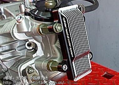 摩托车论坛 弯梁世界 雅马哈-弯梁车讨论专区 03 加油冷器  发动机