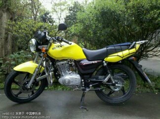 4月8日新买的en2f,上图片! - 豪爵铃木-骑式车讨论