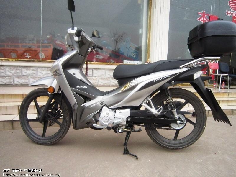 03 新大洲本田cub110电喷弯梁摩托车