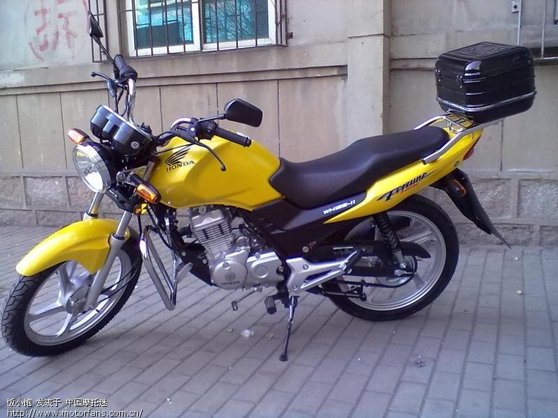 摩托车论坛 五羊本田-骑式车讨论专区 五羊本田-锋翼125 03 请教新