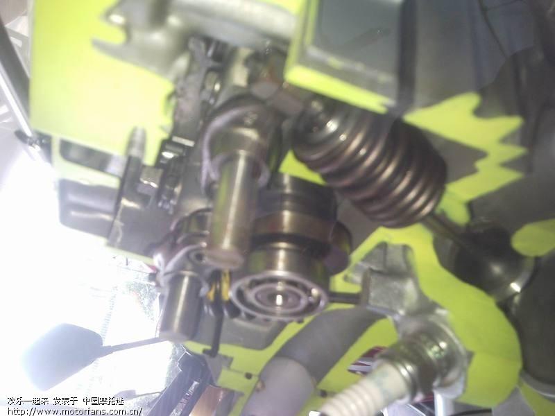 图解cbf150发动机