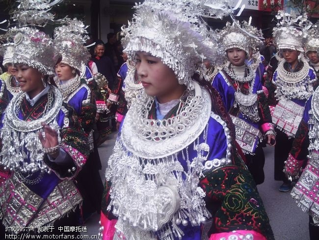 姊妹节上美女多 贵州摩友交流区