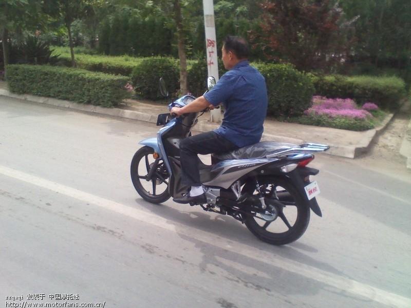 本田飘悦蓝色碟刹 - 新大洲本田 - 摩托车论坛 - 中国