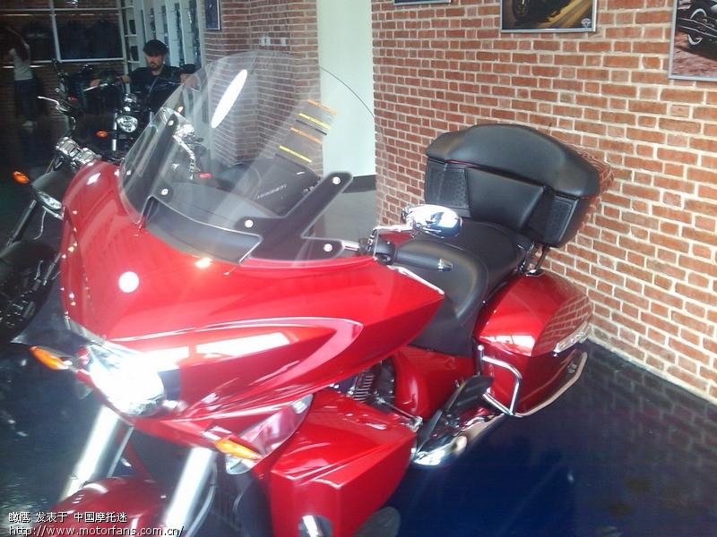 超越哈雷 北京胜利摩托车专卖店偶游高清图片