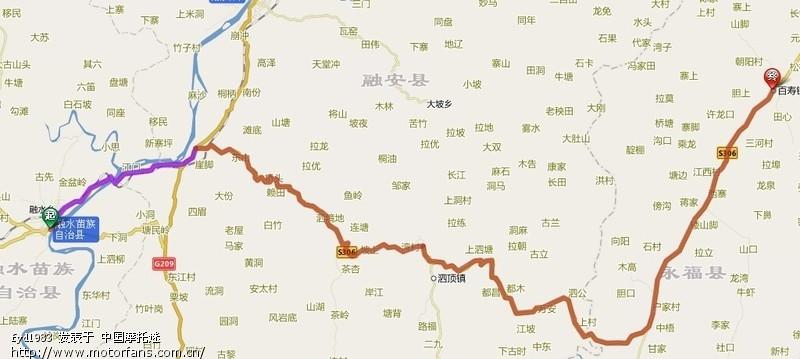 广西融水 桂林地图