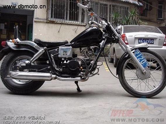 嘉陵70摩托车北京哪儿有卖的?改装的 从网上照