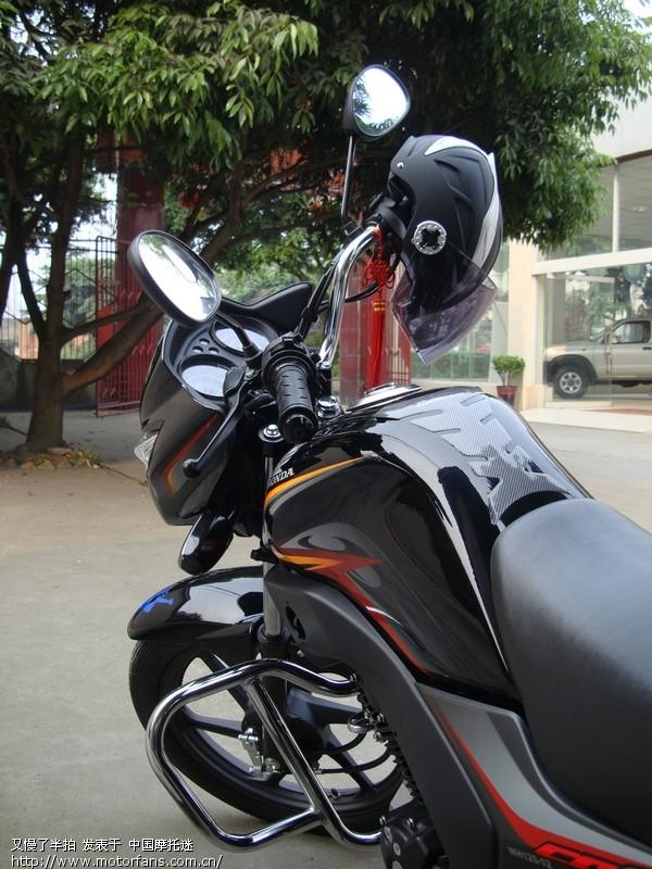 黑色锋朗一个字--酷-五羊本田-锋朗125-摩托车论坛手机版-中国第一