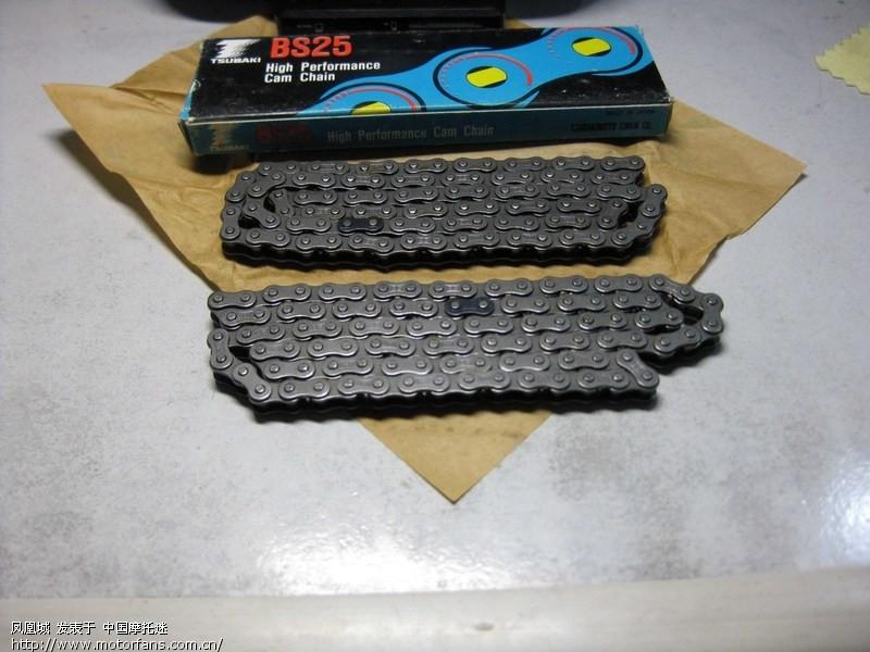 在哪里能找到gx125铃木的进口原装小链条呢