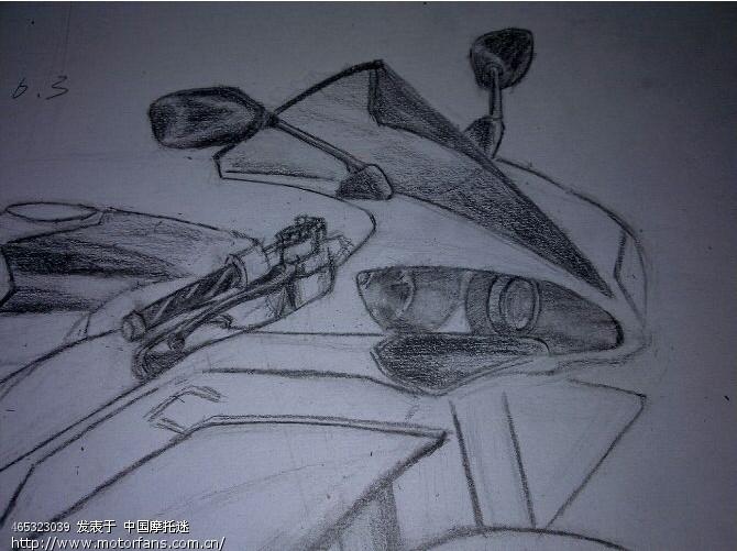 画车素描画的步骤图片