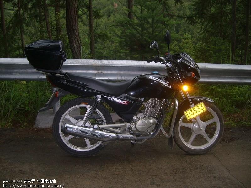铃木俊驰gt125-5b骑行报告
