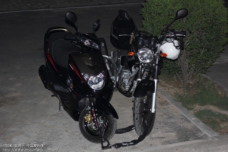 根本就没有用摩托车主电瓶电源,怪不得双闪不亮,喇叭叫也不是那那么