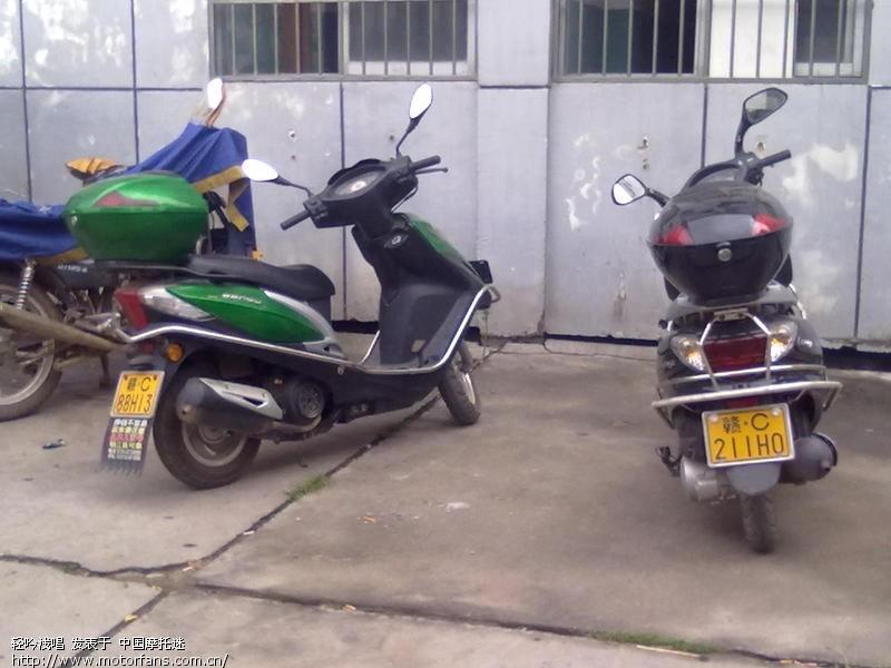 钱江郎悦踏板摩托车电路图