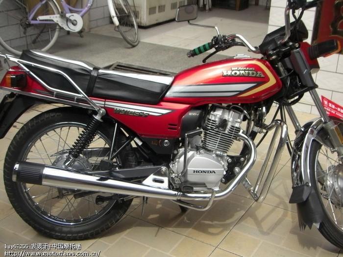 改装五羊本田125a 五羊本田125a改装复古 五羊本田125a摩托车