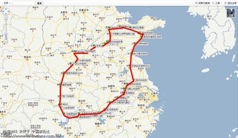 青岛高速公路线路