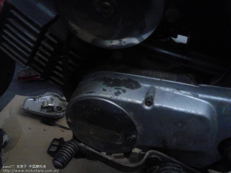 20年老车雅马哈DX100求高手指点 - 维修改装
