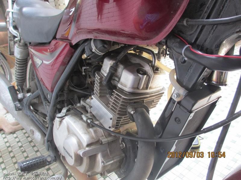 otr发动机加装水冷 - 五羊本田图片