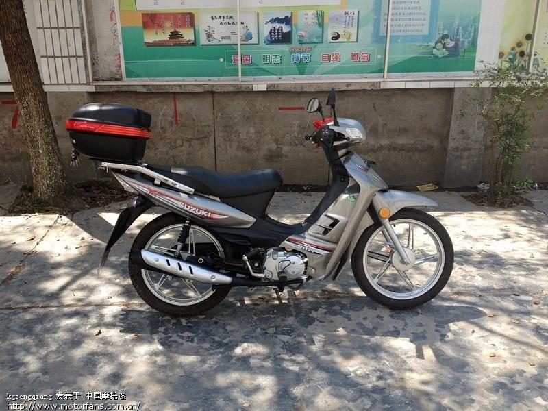 金城铃木新天星110怎么样 - 弯梁世界 - 摩托车论坛 - 中国第一摩托