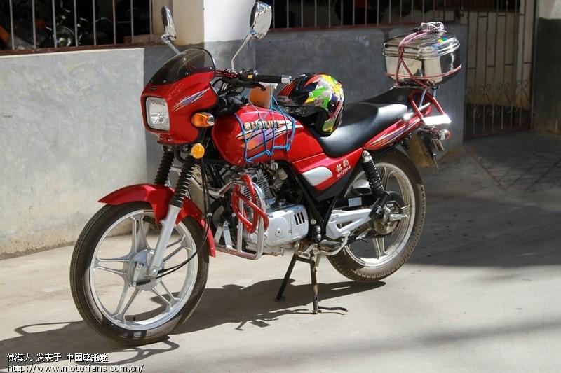 摩托车论坛 豪爵铃木-骑式车讨论专区 钻豹 03 1岁的钻豹k-a