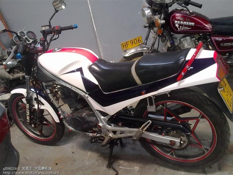 铃木gs125r翻新 - 维修改装