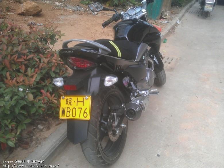 安徽安庆WG250 豪爵铃木 骊驰GW250 中国第一摩托车论坛 摩旅进行高清图片