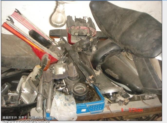 二手摩托车配件,时代之星,劲虎减震,VFR400化