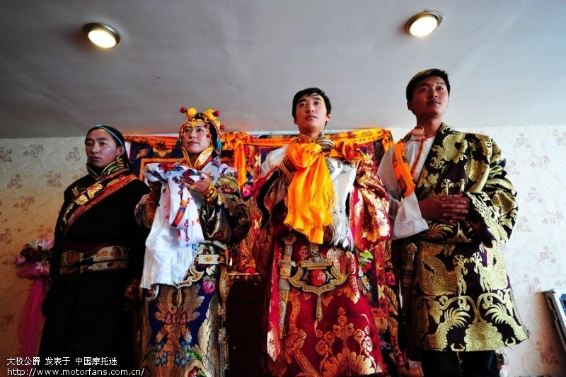 玉树藏族的婚礼