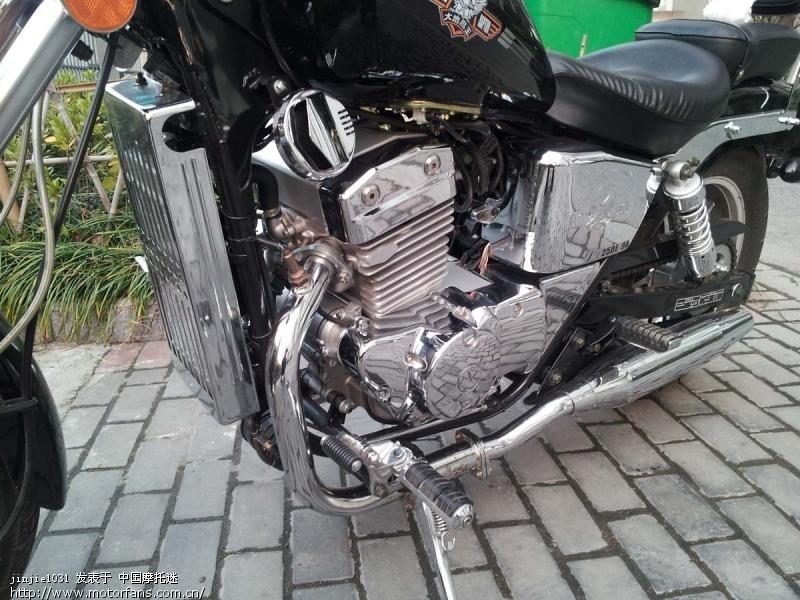 加水摩托车原理