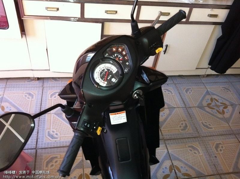 新买的豪爵生产的铃木畅迪FW110大家看看合