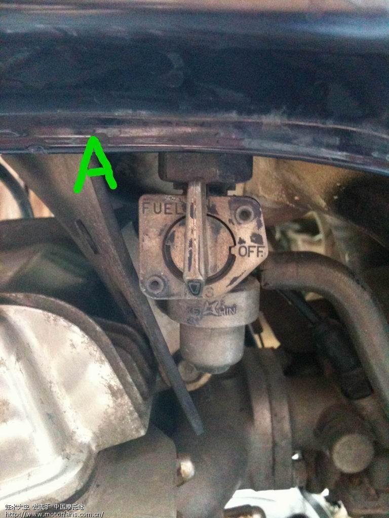 有问油箱开关打那个方向才是备用油的 有图 维修改装 摩托车论坛 中国高清图片