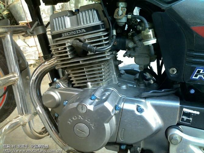 嘉陵本田jh125-8b换233发动机