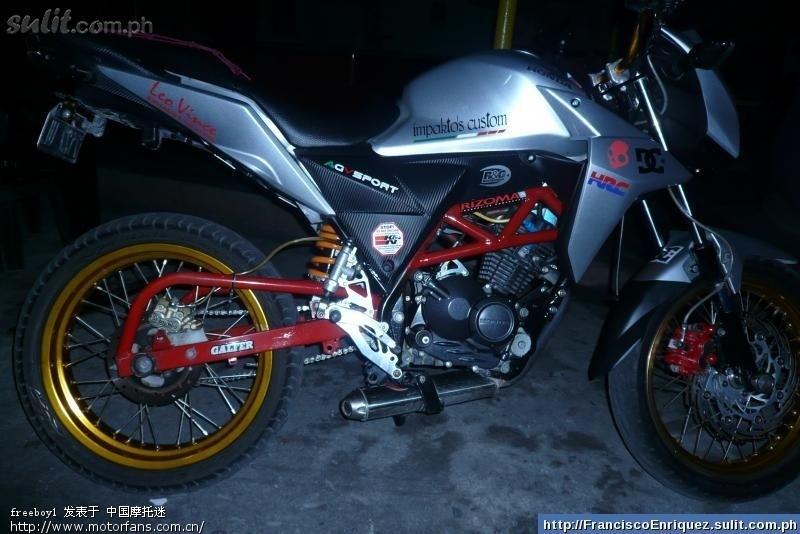 【改装】 cb 110 龙卷风-五羊本田-锋朗125-摩托车版图片