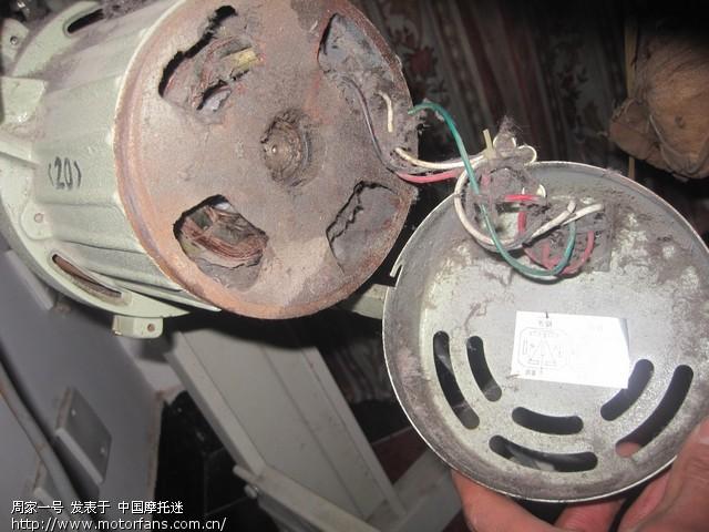 问一个380v电机用220v电压的问题
