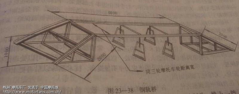 木桥承重简单设计图