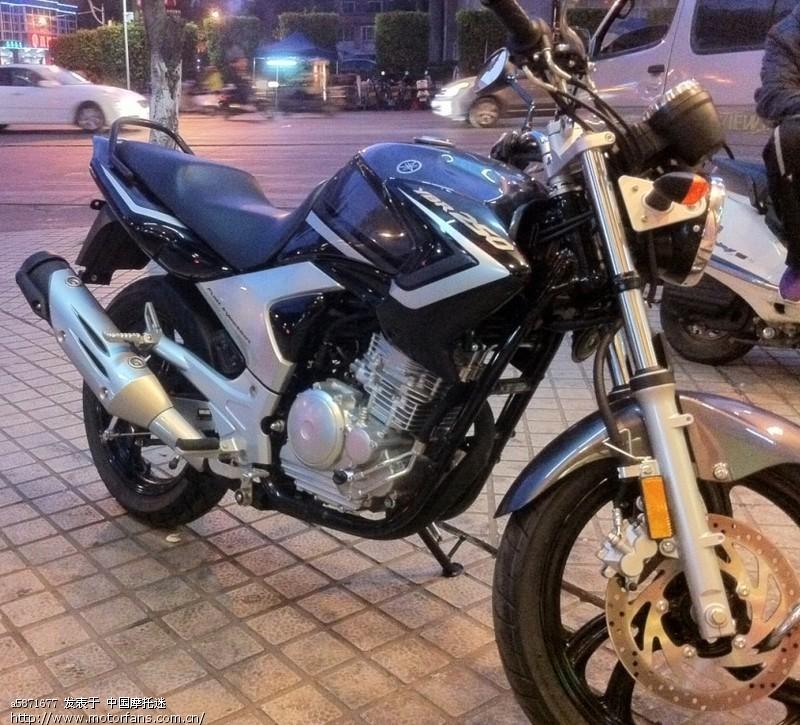 新买的雅马哈天剑王250