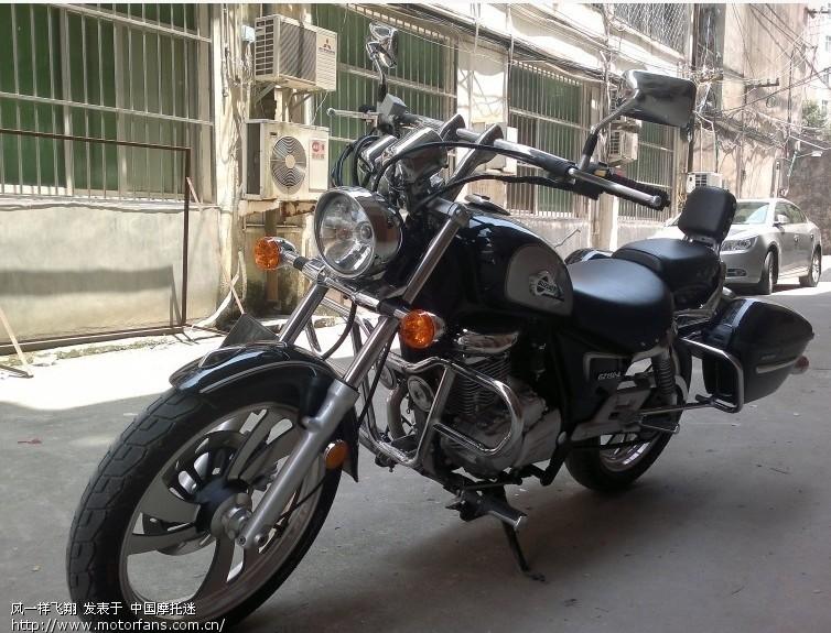 摩托车论坛 豪爵铃木-骑式车讨论专区 悦酷gz150 03 gz150-a悦酷 改
