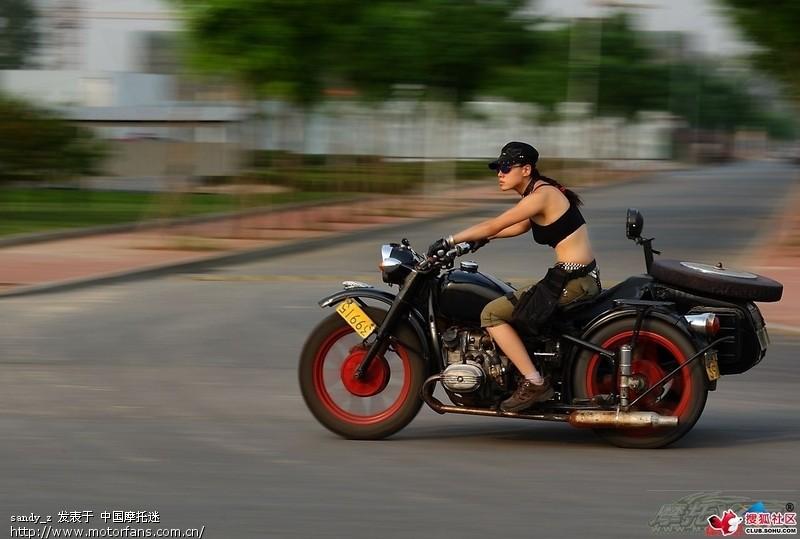 美女骑摩托第六季之靓女破车 北京摩友交流区 800
