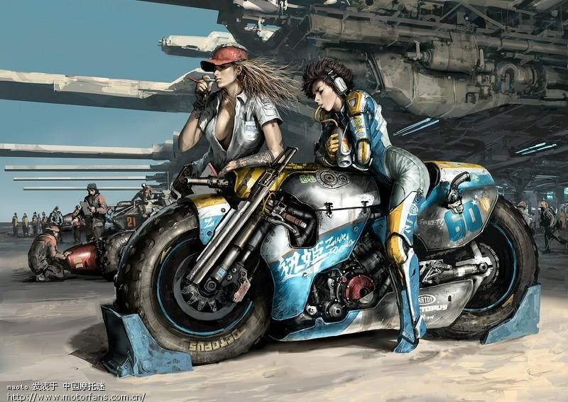 摩托车前拖钩(送手绘机车壁纸两张)